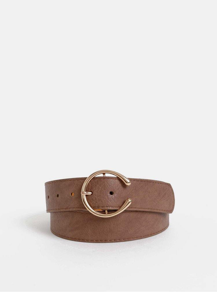 Hnědý kožený pásek Haily´s Franzy