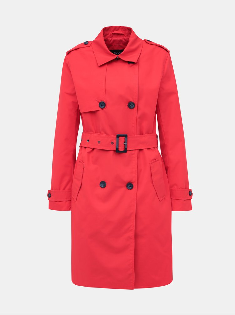Trenciuri si paltoane subtiri pentru femei ZOOT - rosu