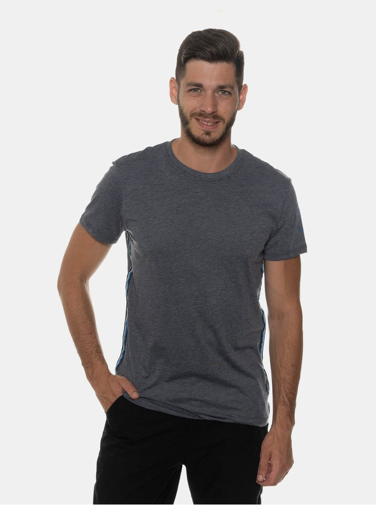 Tmavomodré pánske tričko SAM 73