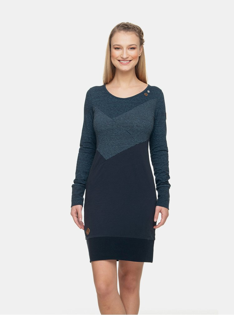 Tmavomodré šaty Ragwear Viola Dress