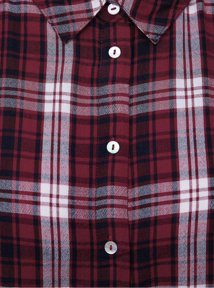 Červená kockovaná košeľa Dorothy Perkins