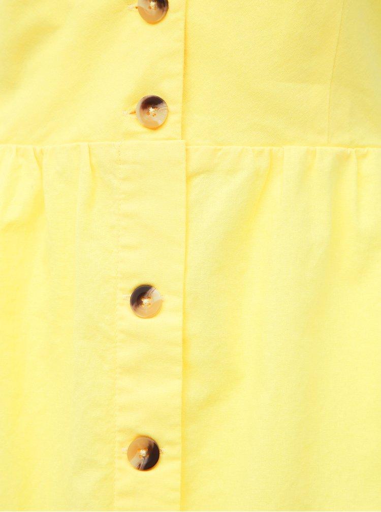 Žluté šaty Haily´s Amal