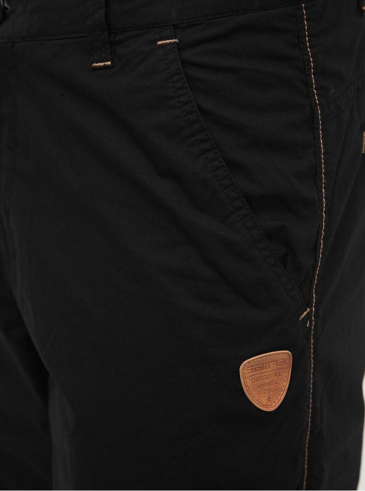 Čierne pánske nohavice SAM 73