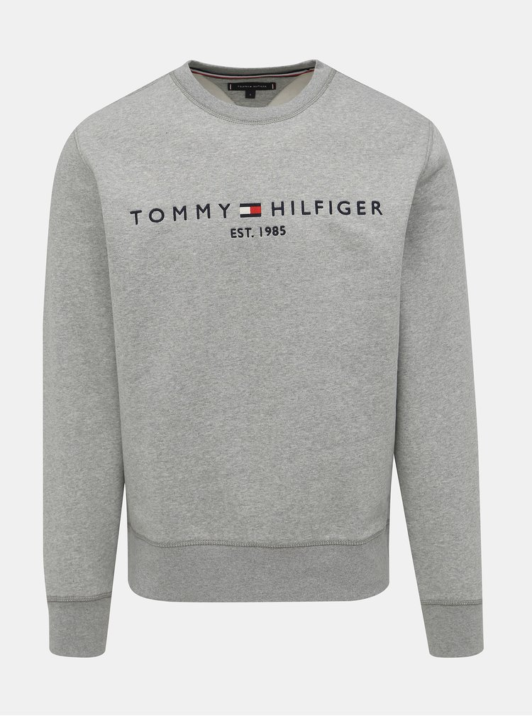 Šedá pánská mikina Tommy Hilfiger
