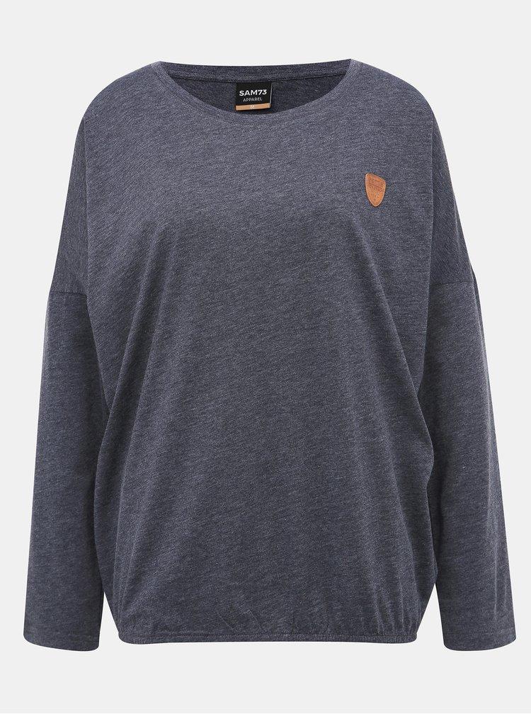 Tmavě šedé dámské tričko SAM 73