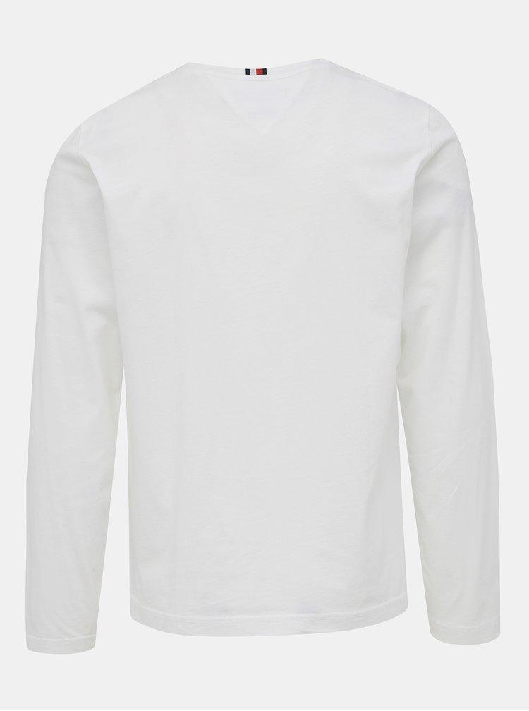 Biele pánske tričko Tommy Hilfiger