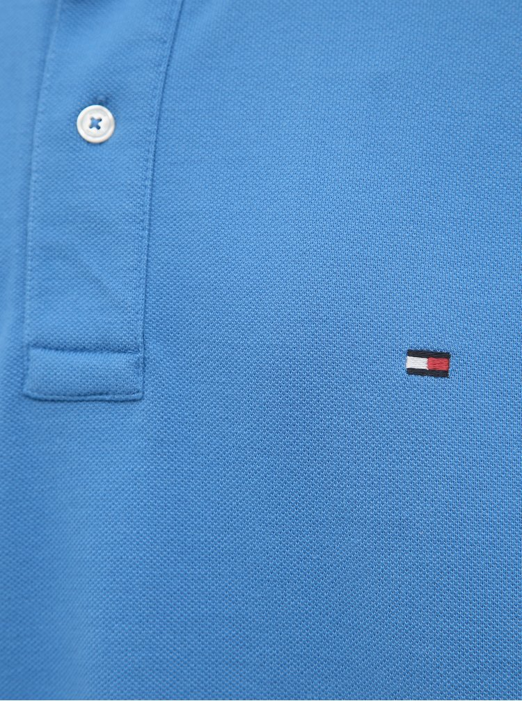 Modré pánske polo tričko Tommy Hilfiger