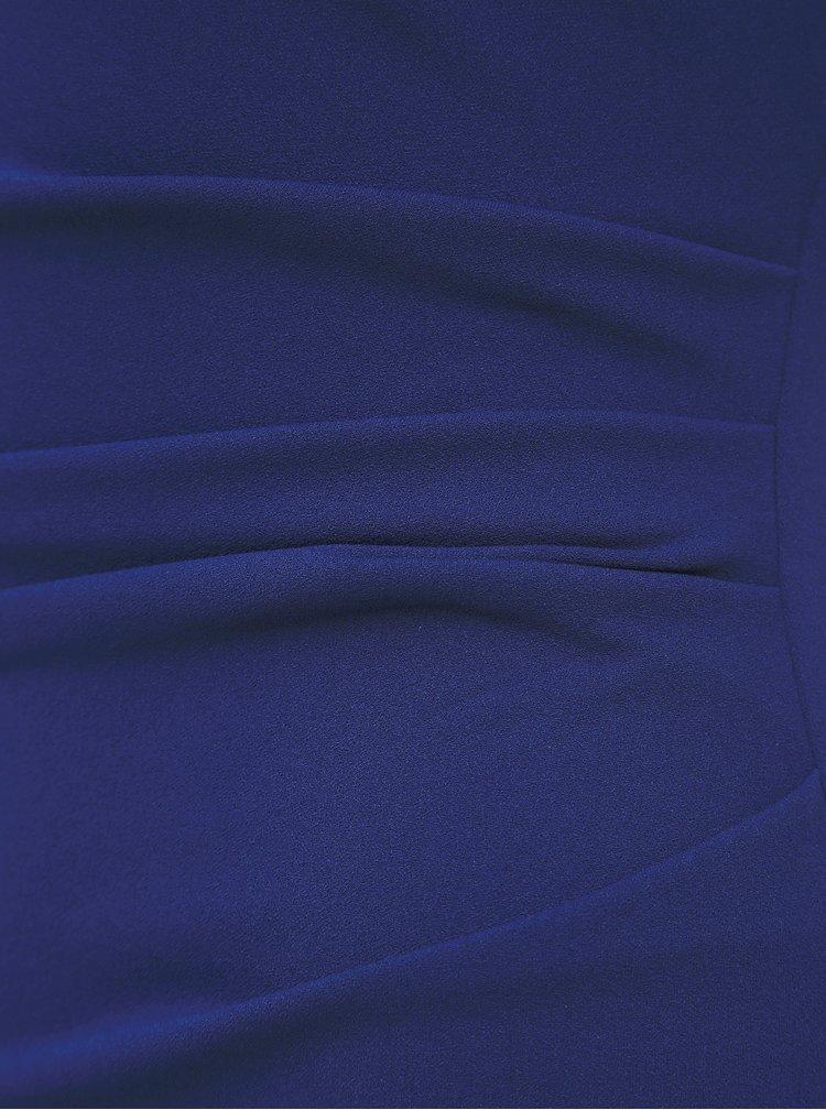 Tmavě modré pouzdrové maxišaty ZOOT