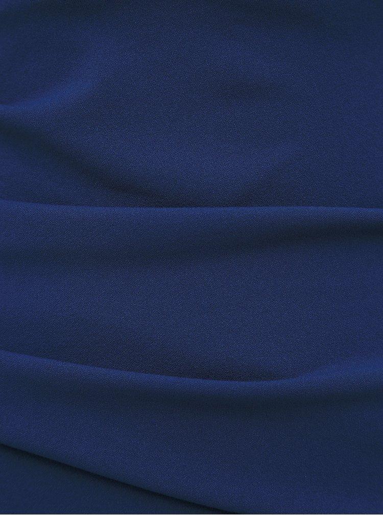 Tmavomodré púzdrové šaty ZOOT