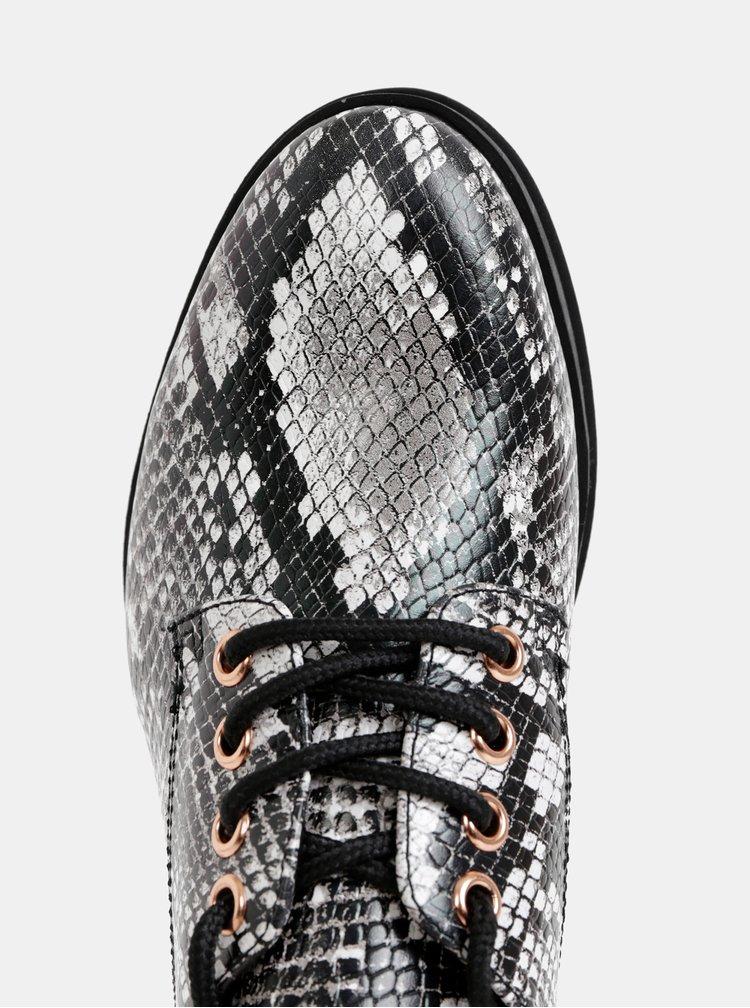 Pantofi cu siret pentru femei Tamaris - gri
