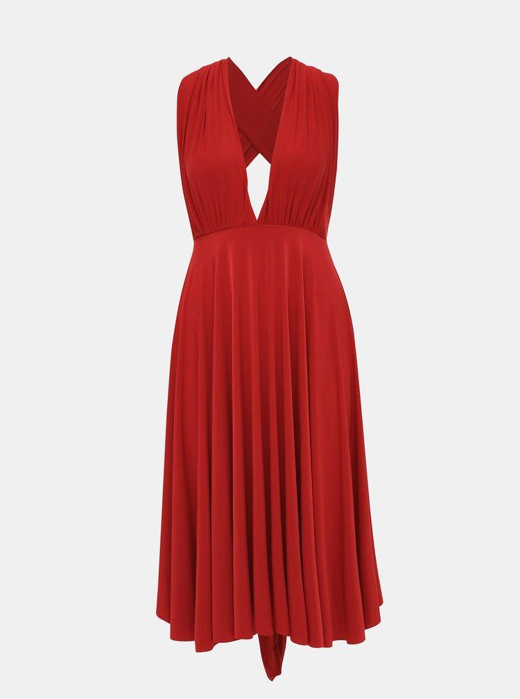 Červené variabilné šaty/sukňa ZOOT