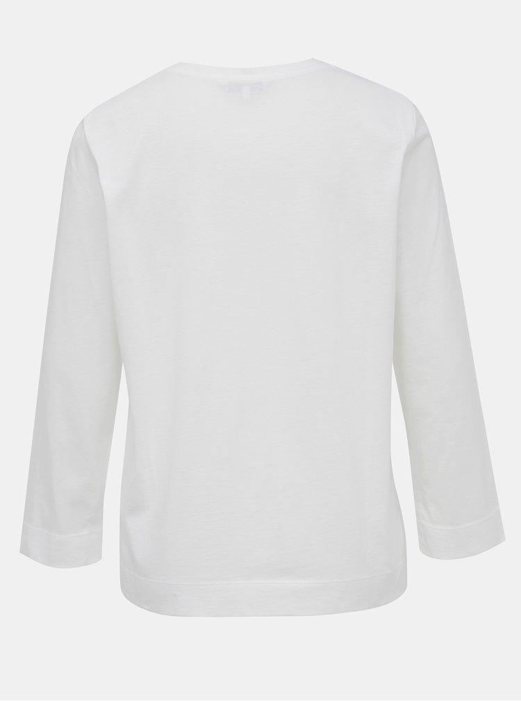 Biele dámske tričko s potlačou Tommy Hilfiger Katie