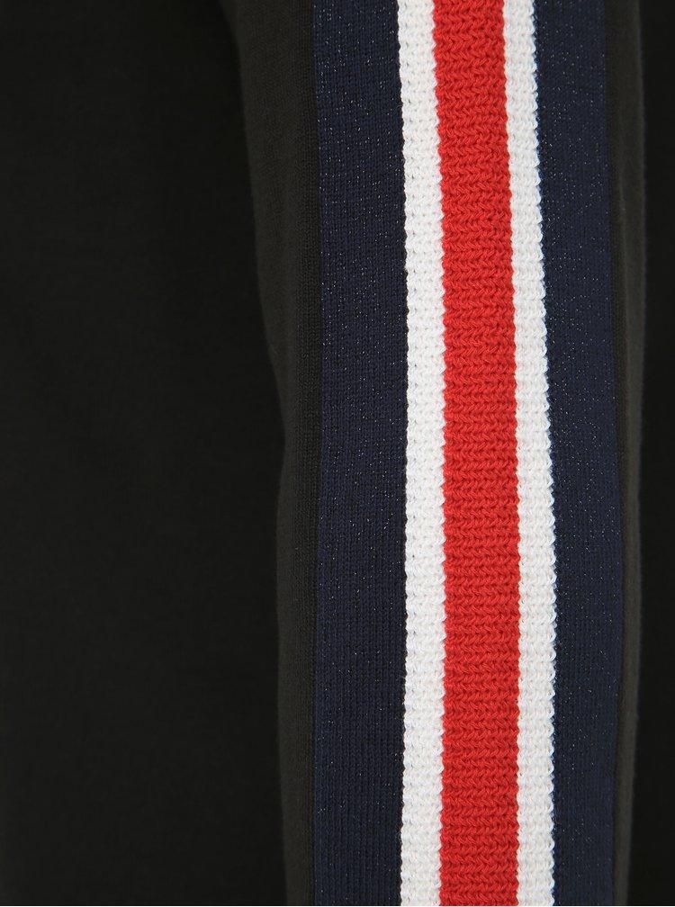 Čierne svetrové šaty Tommy Hilfiger Hillory