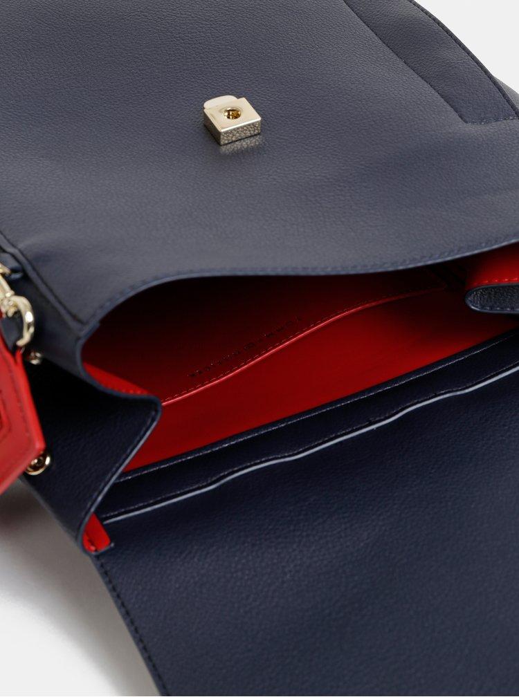 Tmavě modrý dámský batoh Tommy Hilfiger Charming
