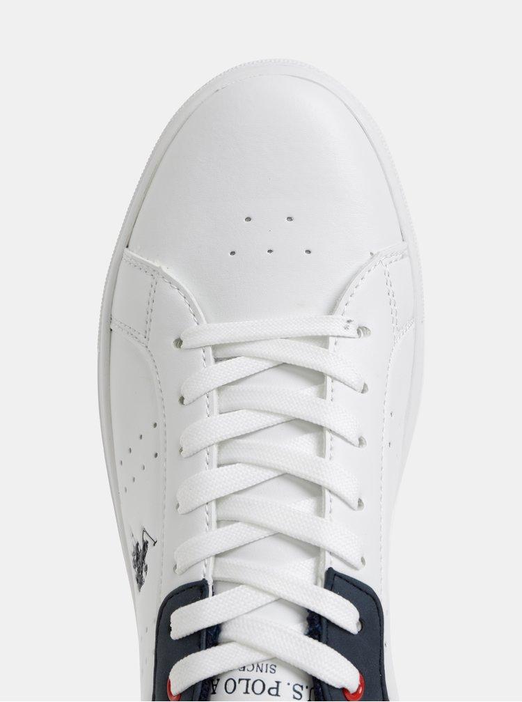 Biele pánske tenisky U.S. Polo Assn.