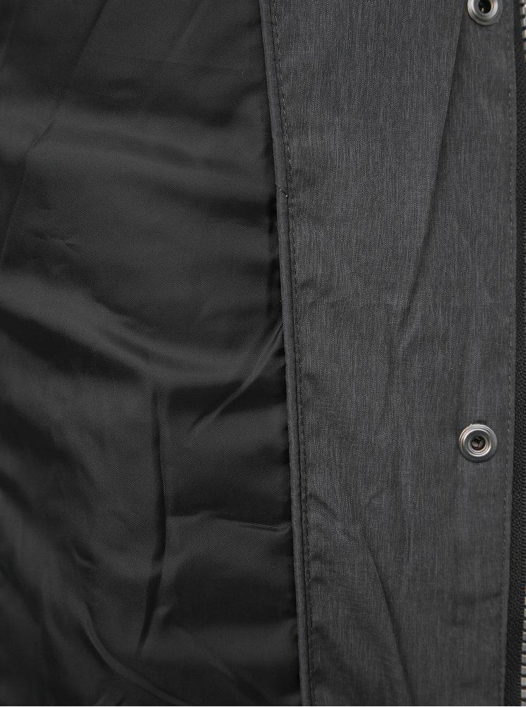 Šedá prošívaná zimní bunda ONLY North