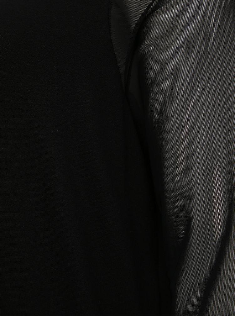 Čierne šaty ONLY CARMAKOMA Sissel