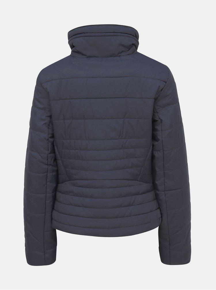 Tmavě modrá prošívaná zimní bunda VERO MODA Clarissa