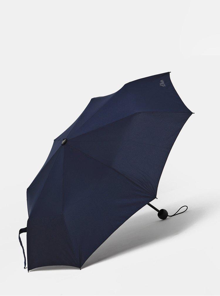 Tmavě modrý skládací deštník s.Oliver