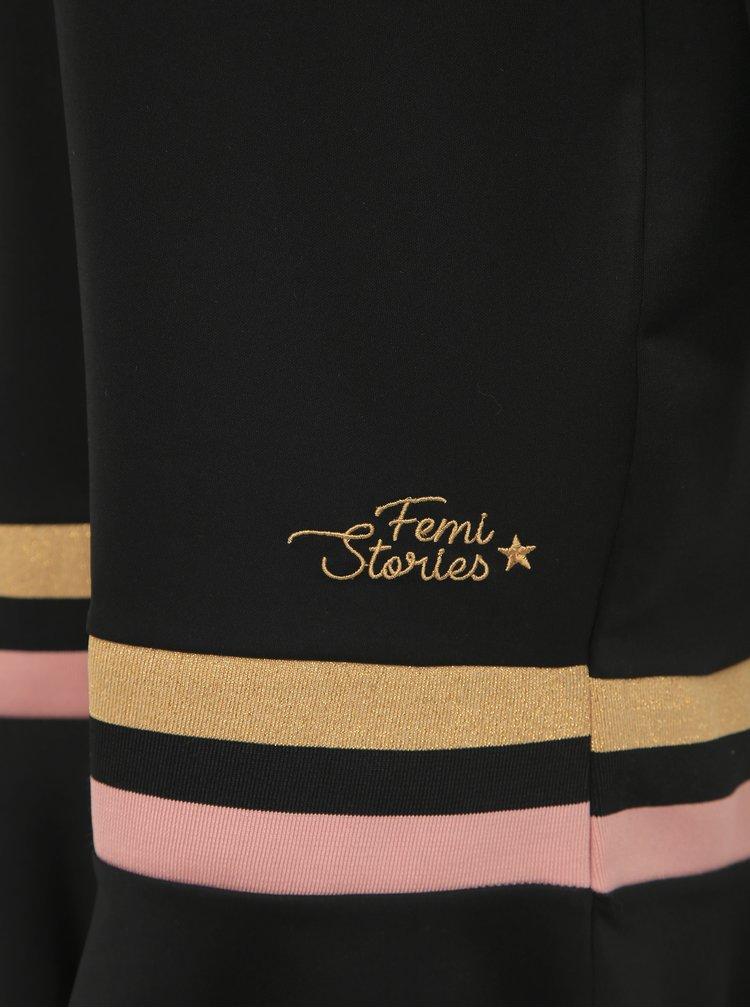 Černé šaty Femi Stories Naba