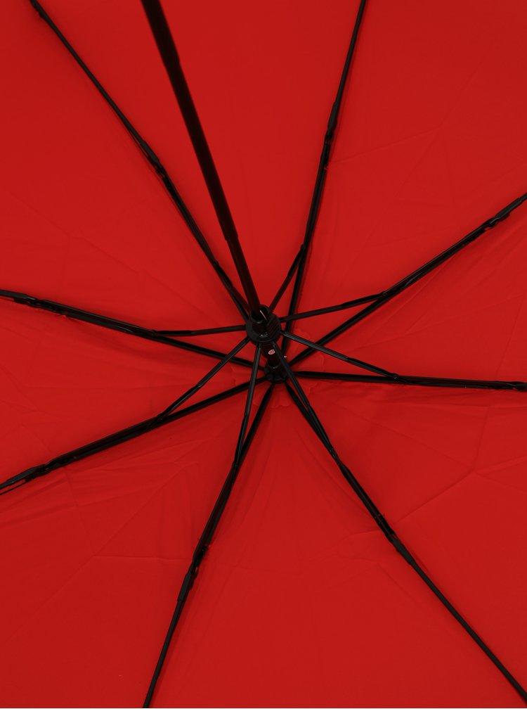 Červený skládací deštník Derby