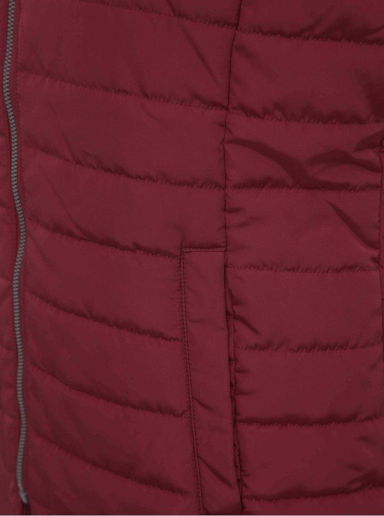 Červená prešívaná vesta ZOOT