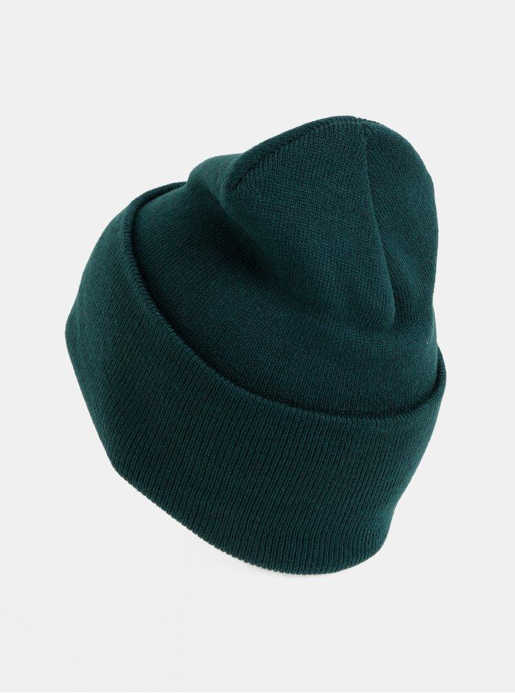 Tmavě zelená čepice Jack & Jones Clong