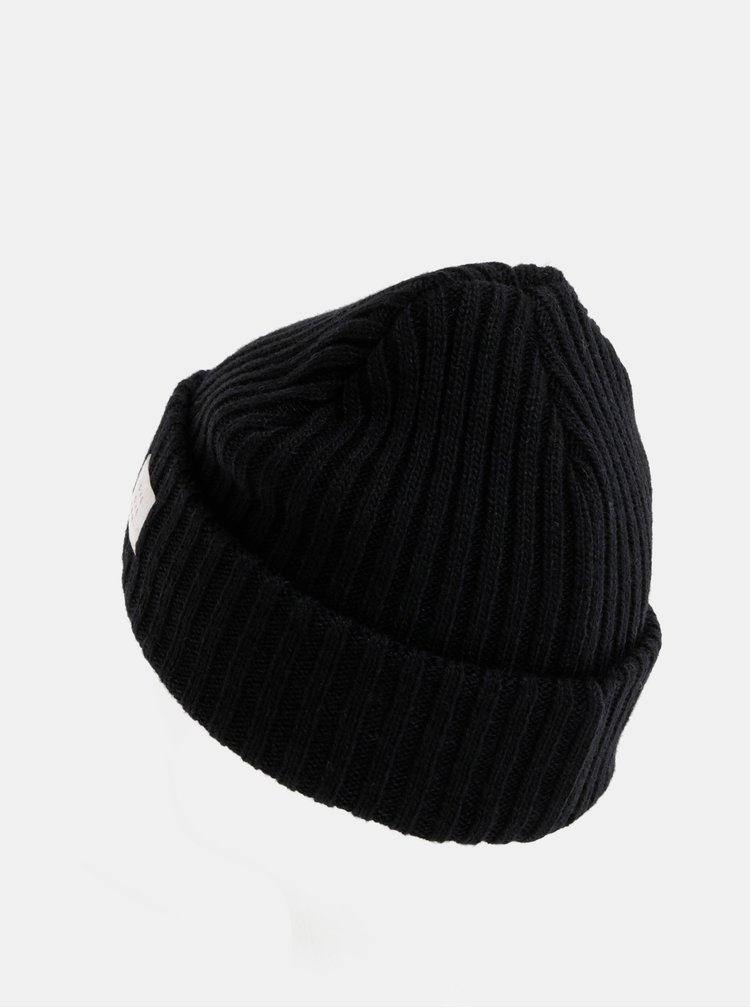 Čierna vlnená čapica Femi Stories Melos