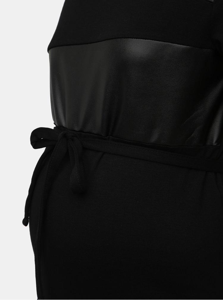 Černé těhotenské šaty Mama.licious Neye