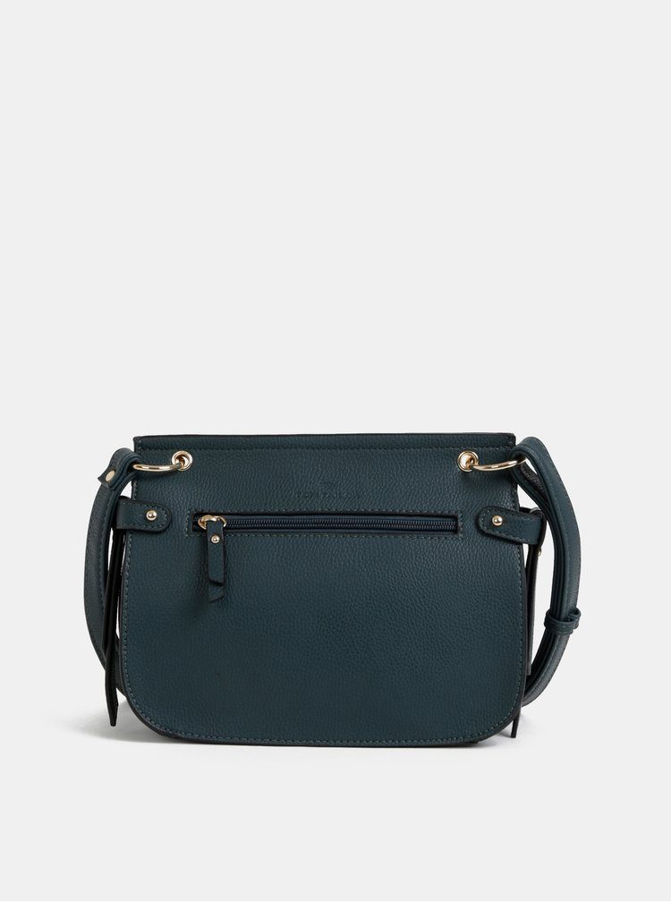 Petrolejová crossbody kabelka Tom Tailor Krystal