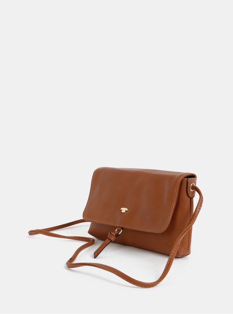 Hnedá crossbody kabelka Tom Tailor Luna