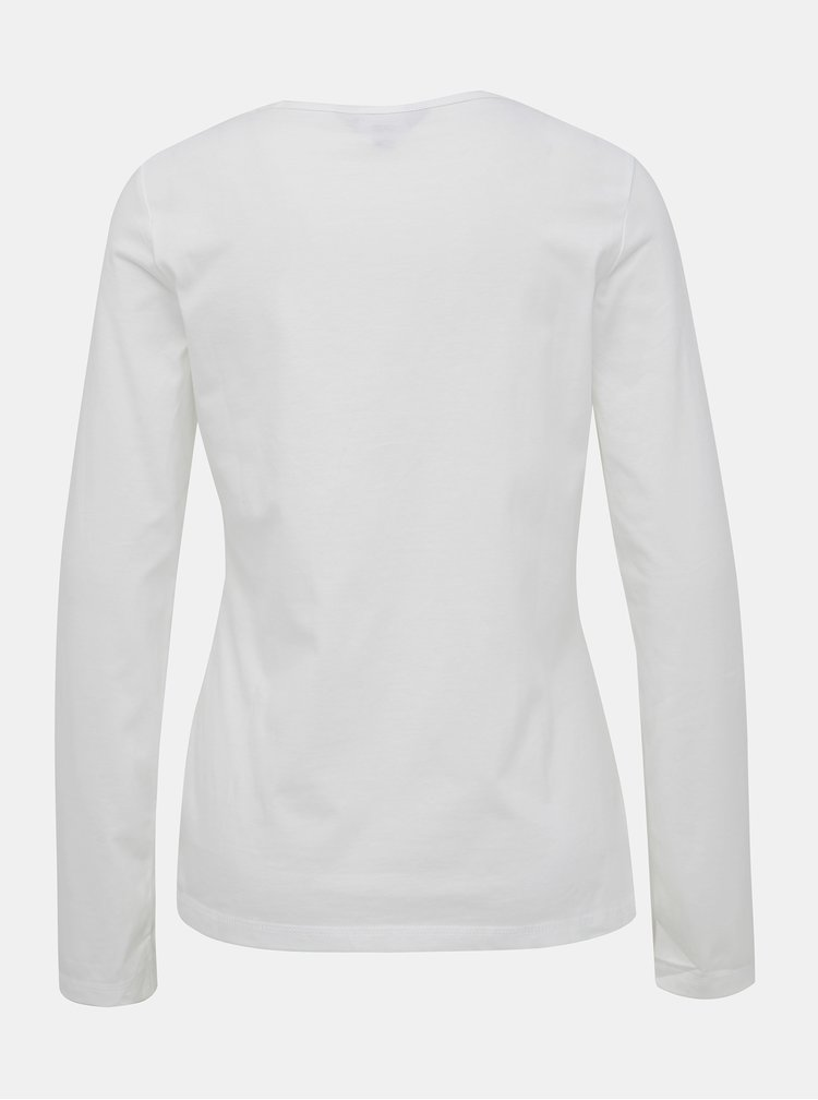 Biele basic tričko Dorothy Perkins