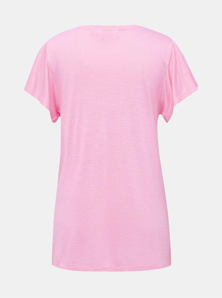 Růžové basic tričko Dorothy Perkins Tall