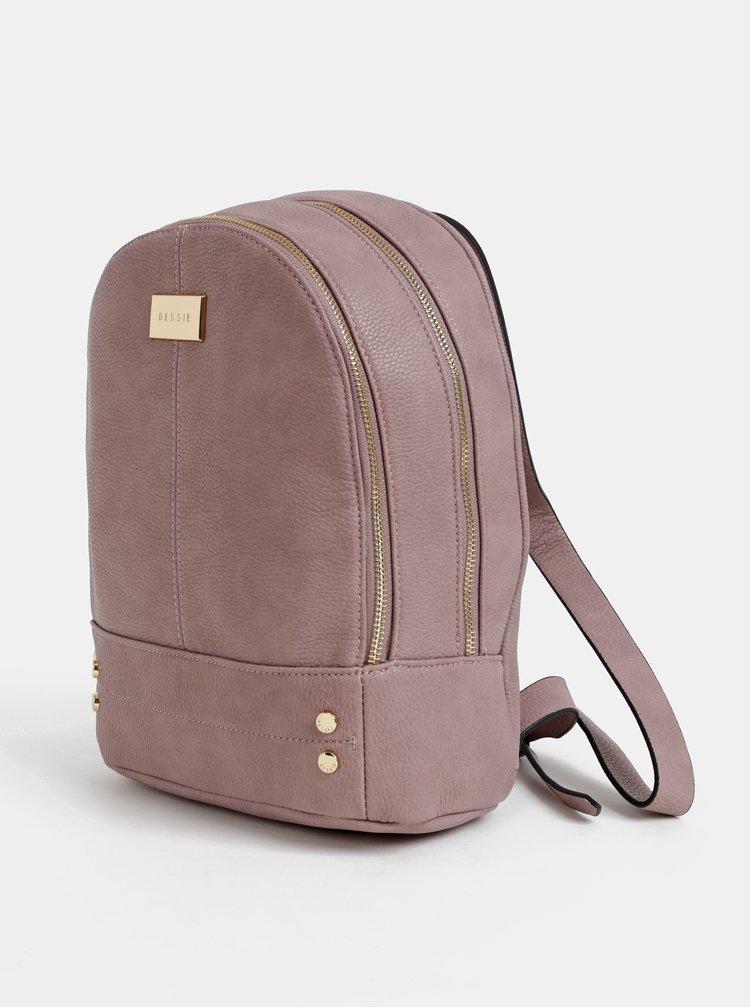 Starorůžový batoh Bessie London