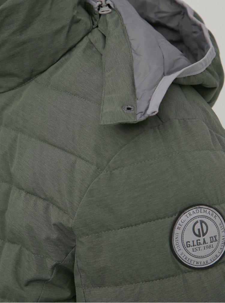 Zelená pánska vodeodolná prešívaná bunda killtec Ventaro