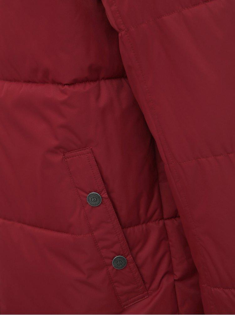 Červená pánska zimná vodeodolná bunda killtec Horus