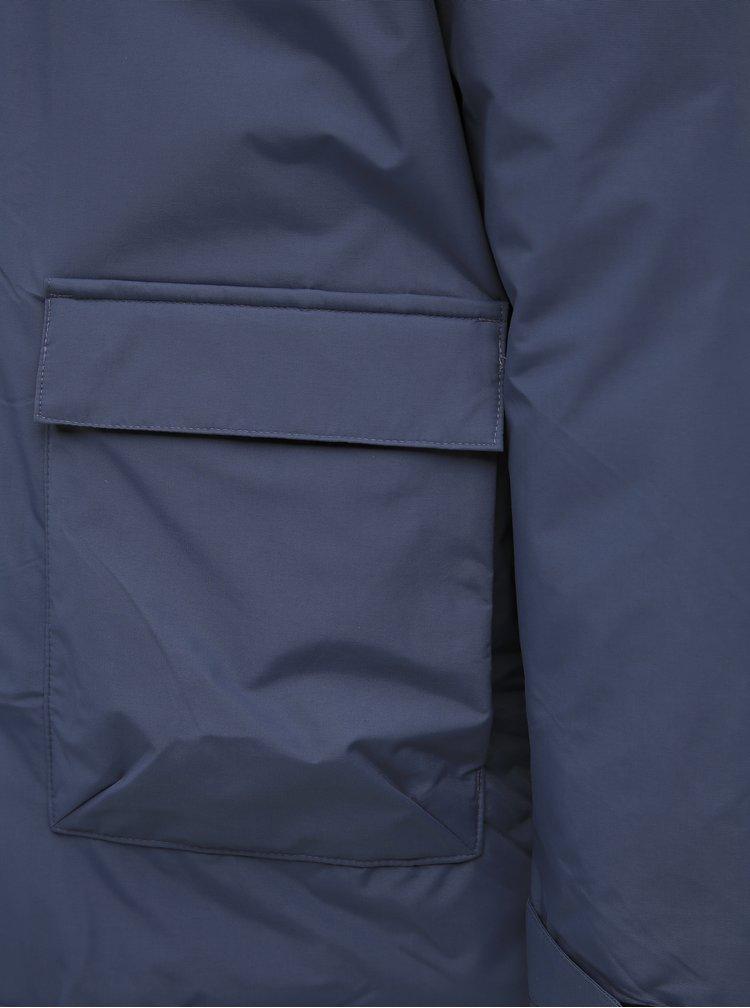 Modrá pánska zimná parka adidas Performance Xploric