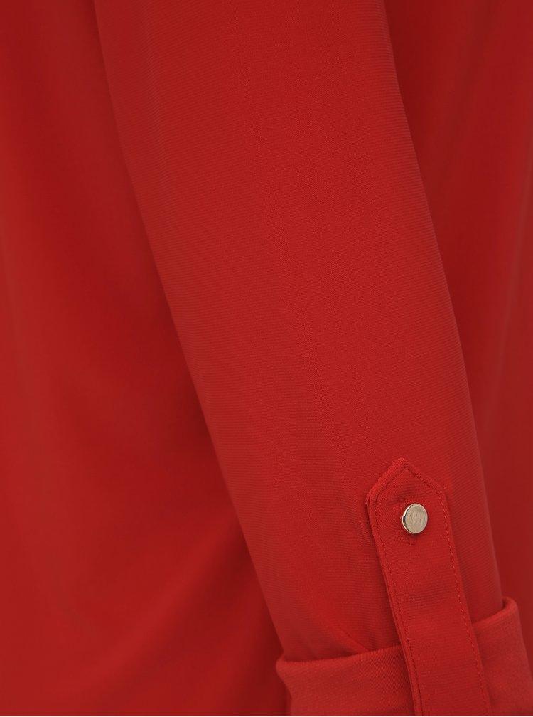 Červená blúzka Dorothy Perkins