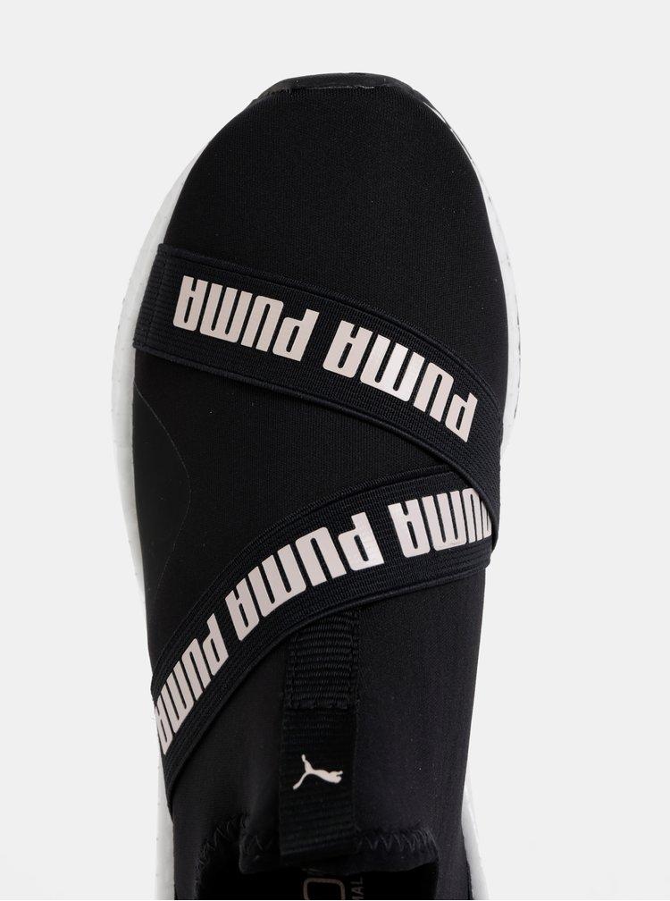 Čierne dámske slip on Puma Star