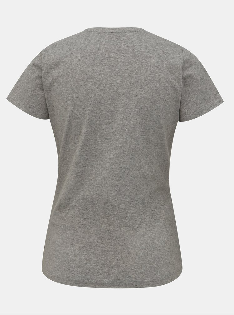 Šedé dámské tričko Pepe Jeans New Virginia