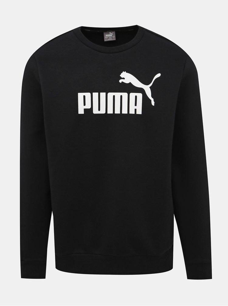 Čierna pánska mikina Puma Ess Logo