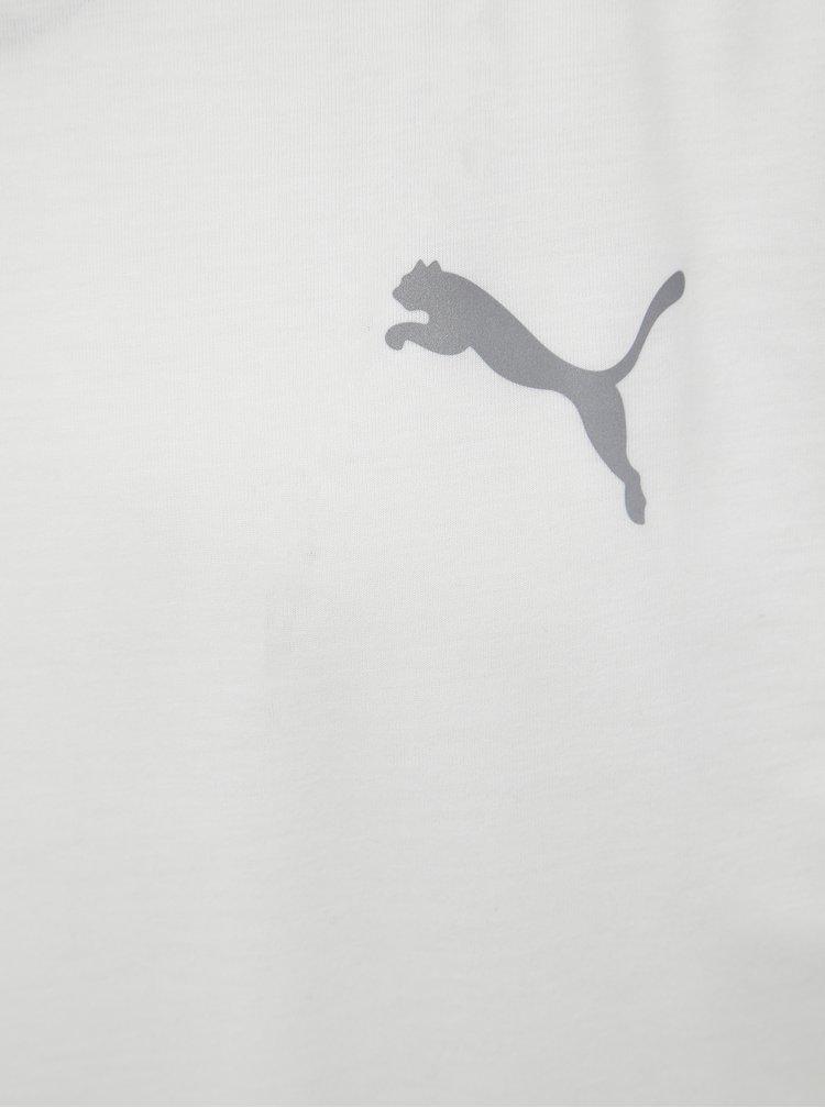 Bílé pánské sportovní tričko Puma Evostripe