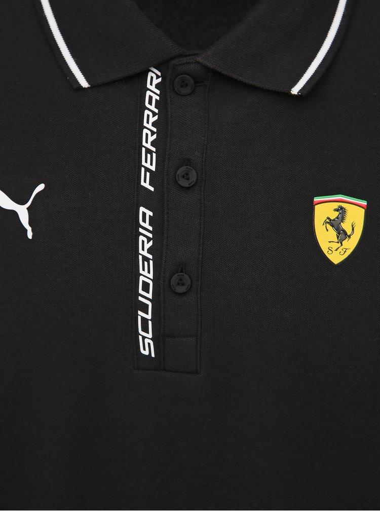 Černé pánské polo tričko Puma SF