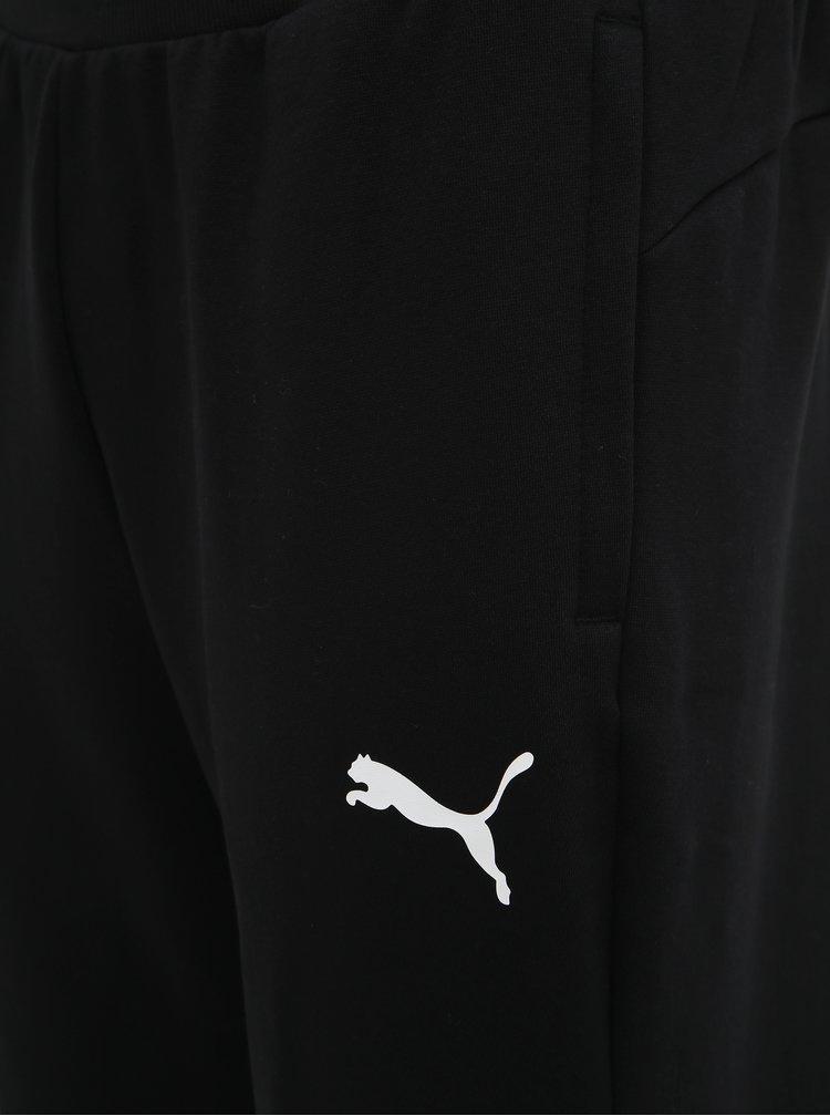 Čierne pánske tepláky Puma Modern