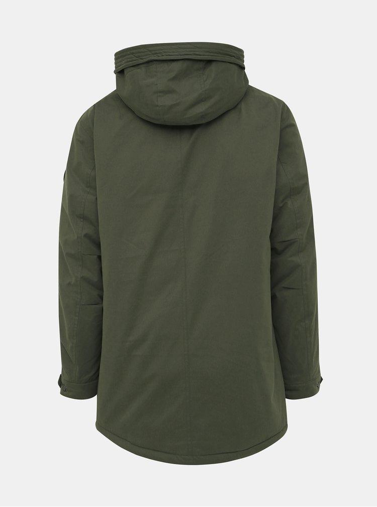 Kaki zimná bunda ONLY & SONS Ethan