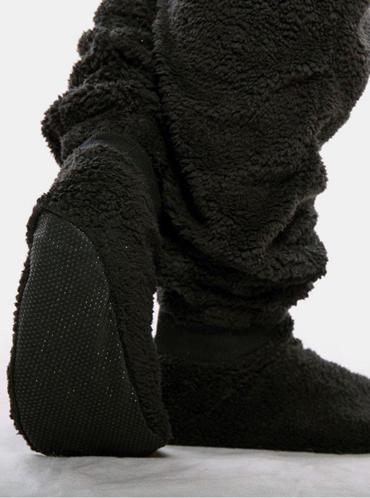 Bielo-čierny unisex overal v tvare pandy SKIPPY
