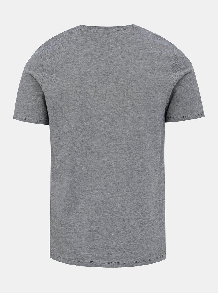 Šedé basic tričko Selected Homme Perfect