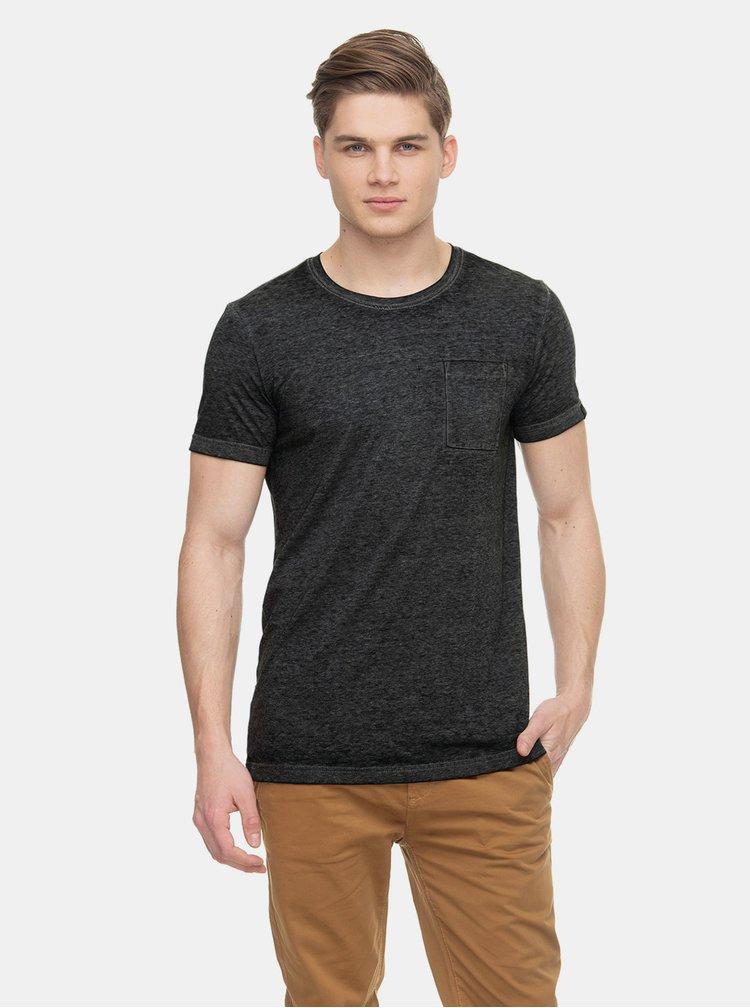 Tmavě šedé pánské tričko s kapsou Ragwear Bartie