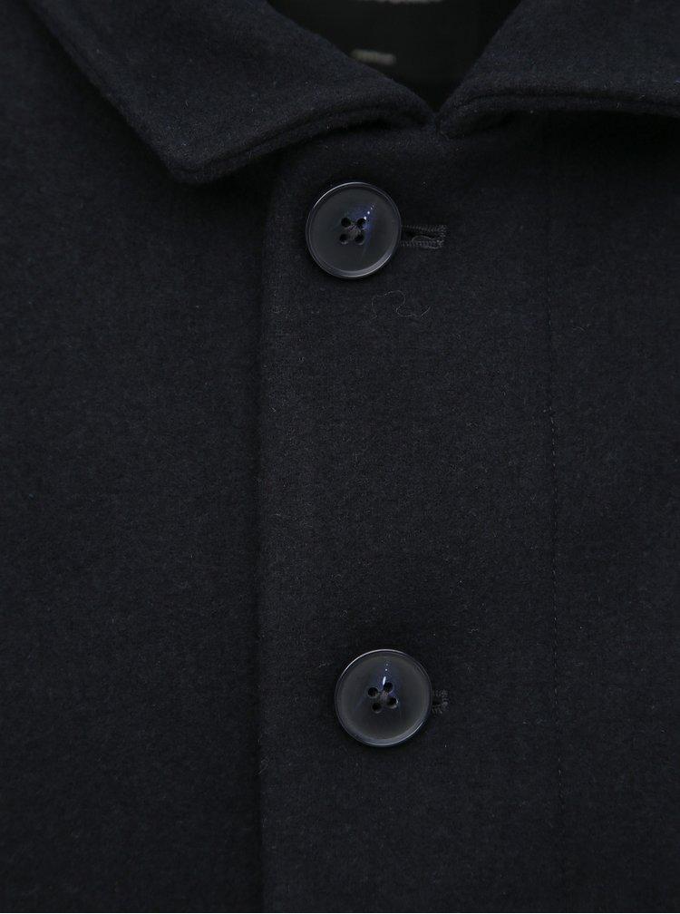Tmavě modrý krátký kabát Jack & Jones Cold