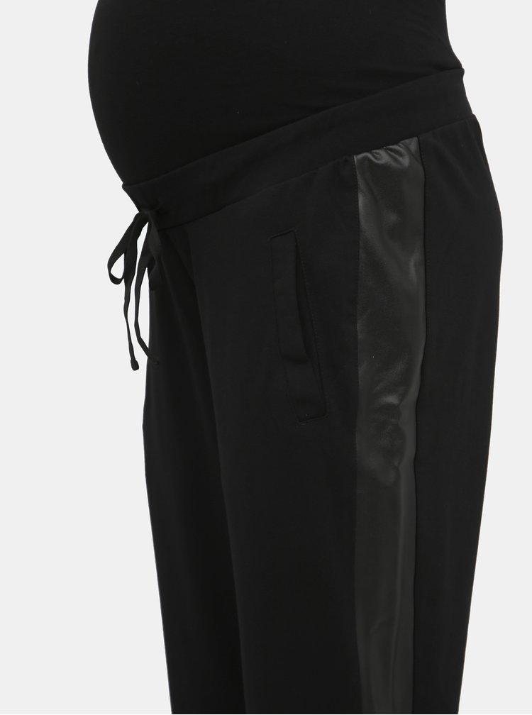 Čierne tehotenské nohavice Mama.licious Blackie